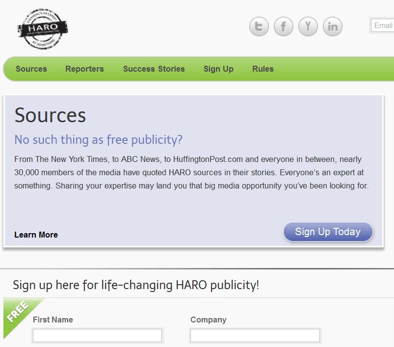 HARO-Homepage