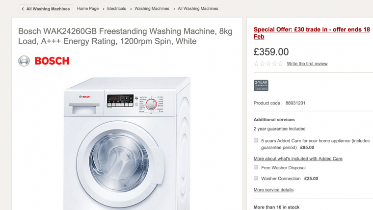 Buy_Bosch_WAK24260GB_Freestanding_Washing_Machine__8kg_Load__A____Energy_Rating__1200rpm_Spin__White___John_Lewis
