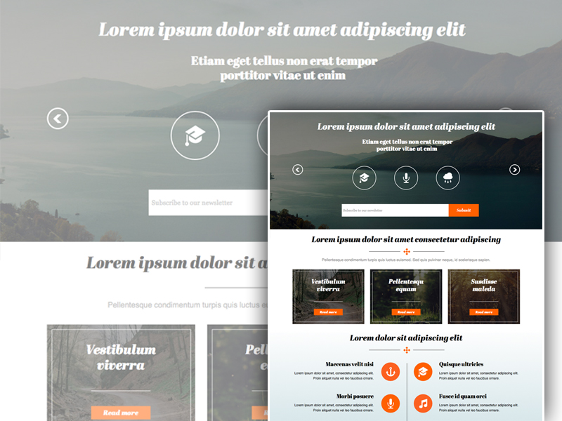 Download Adobe Muse Website Template