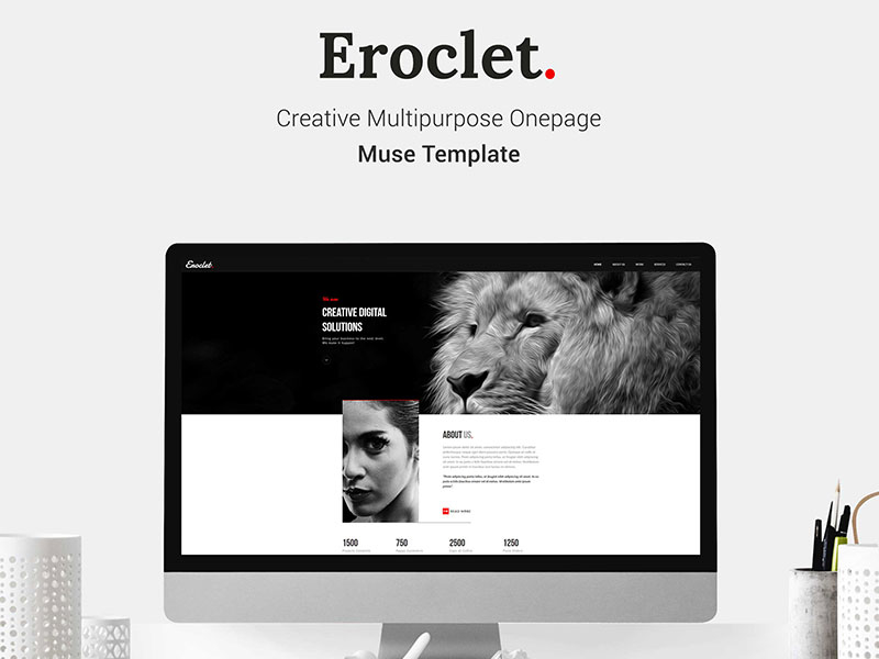 Eroclet Creative Multipurpose Muse Template