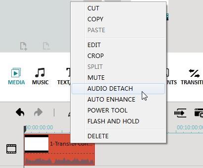 добавить фоновую музыку к видео