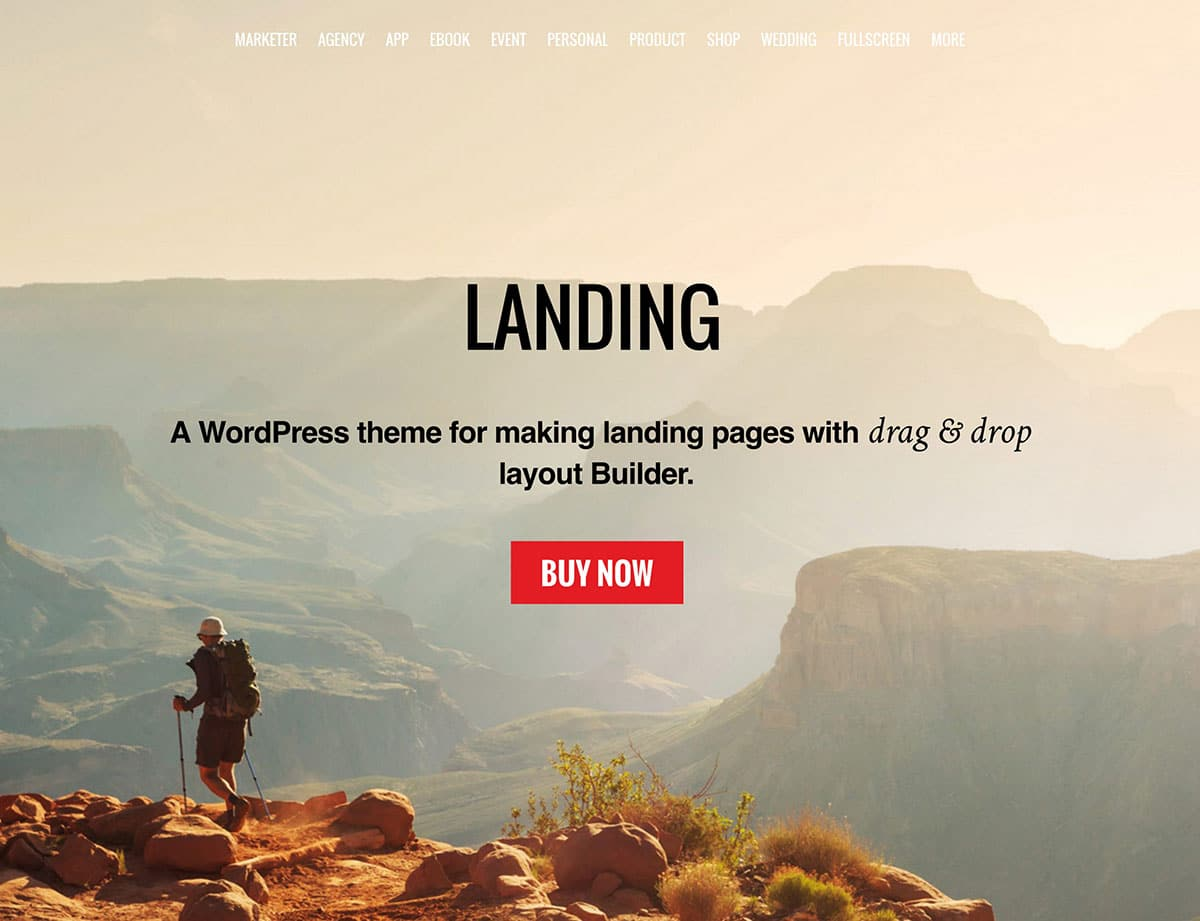 десантно-WordPress-тема