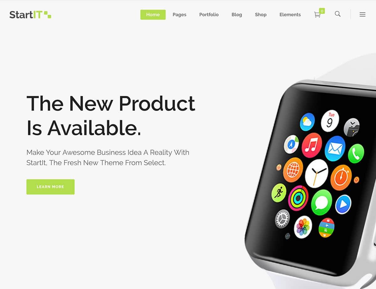 startit-продукт целевая страница