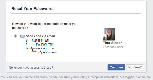 Как восстановить свою учетную запись Facebook, когда вы больше не можете войти в систему Facebook Сбросить пароль