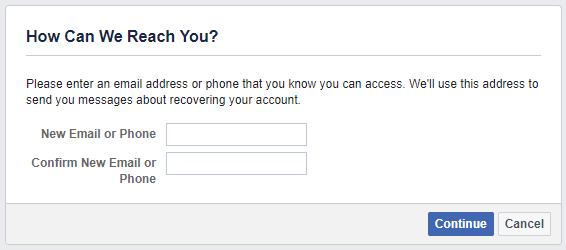 Как восстановить свою учетную запись Facebook, когда вы больше не можете войти в Facebook