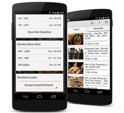 скачать videoder на андроид на русском