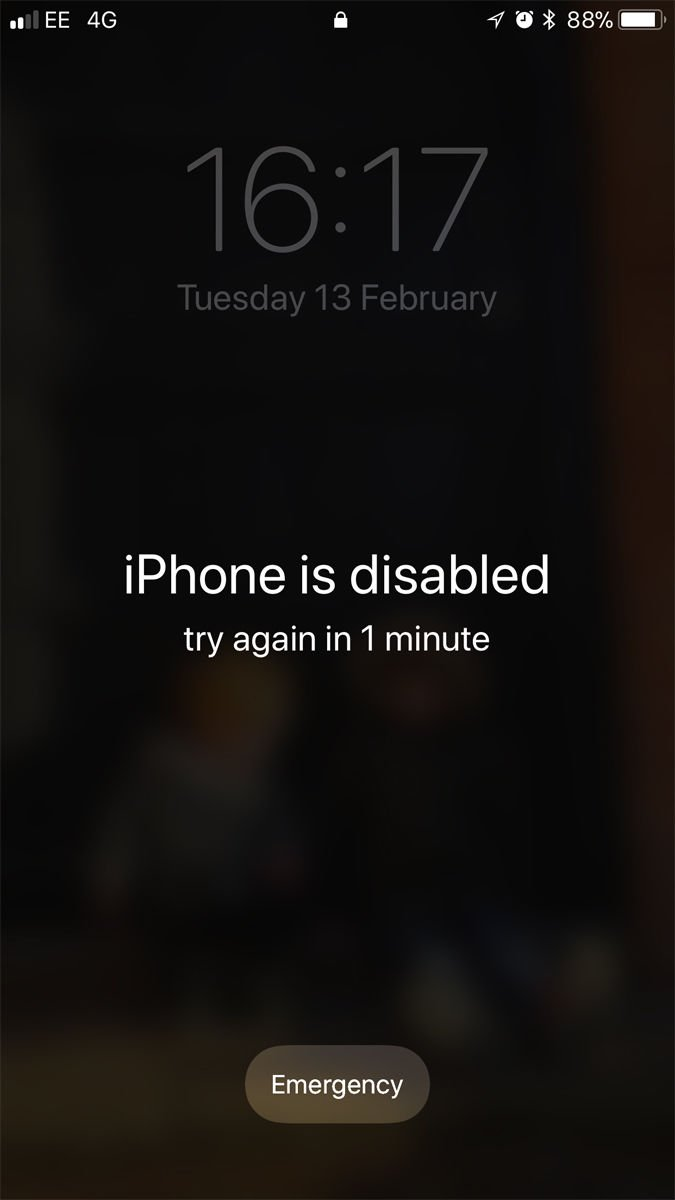 How to fix 'iPhone is disabled. Connect to iTunes' or 'Try again in X minutes' error messages