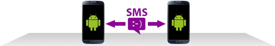 Как передавать текстовые сообщения с Android на Android