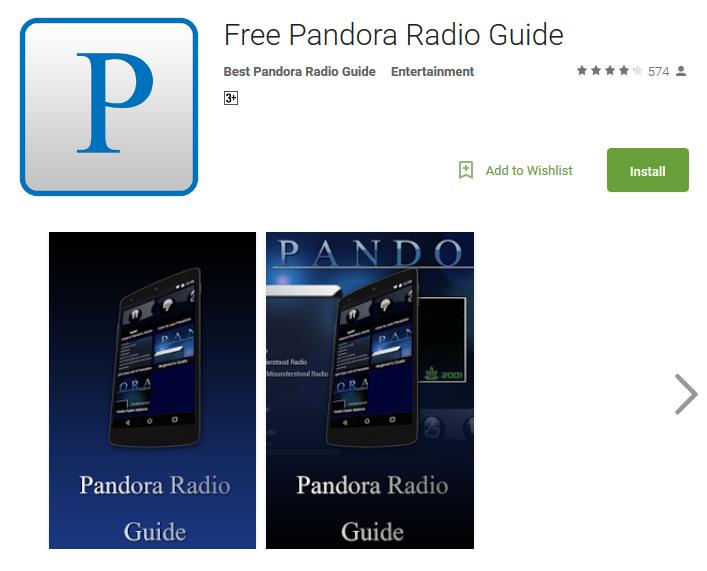 Pandora бесплатный онлайн радио плеер
