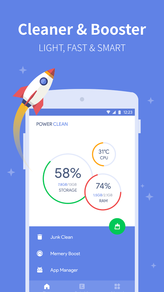 Power-Clean-Antivirus-and-Phone-Cleaner-App