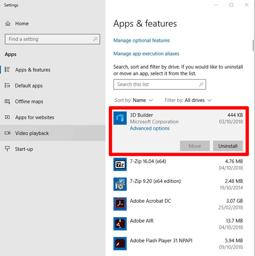 uninstall-preinstalled-apps-windows-10-apps-and-features