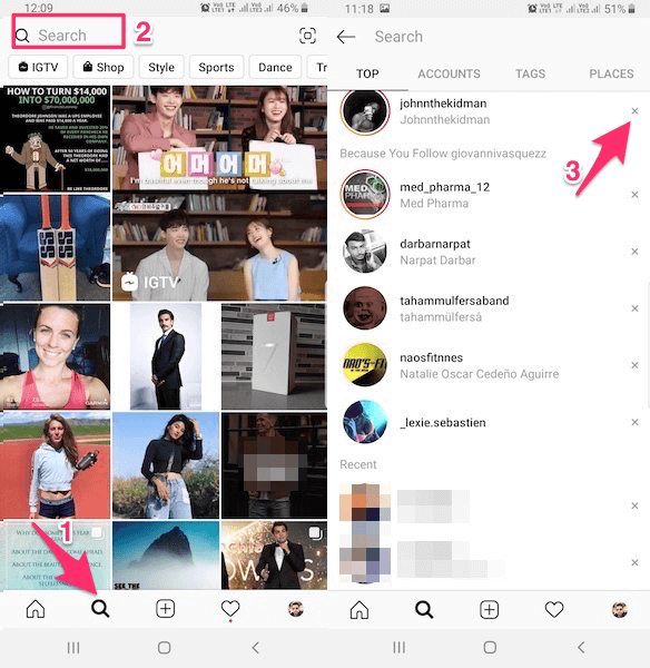 Delete-specific-Instagram-suggestions