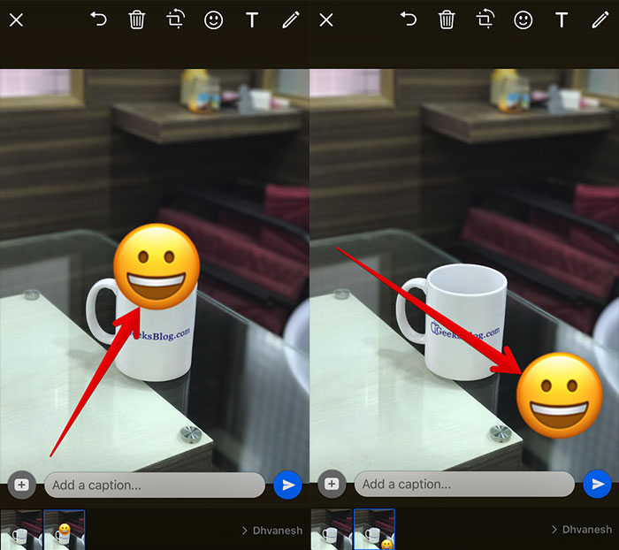 Move-Emoji-in-WhatsApp-Photo-on-iPhone